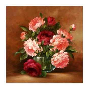 Delightful Realis Minyak Lukisan Bunga Di Vas Buy Minyak Lukisan