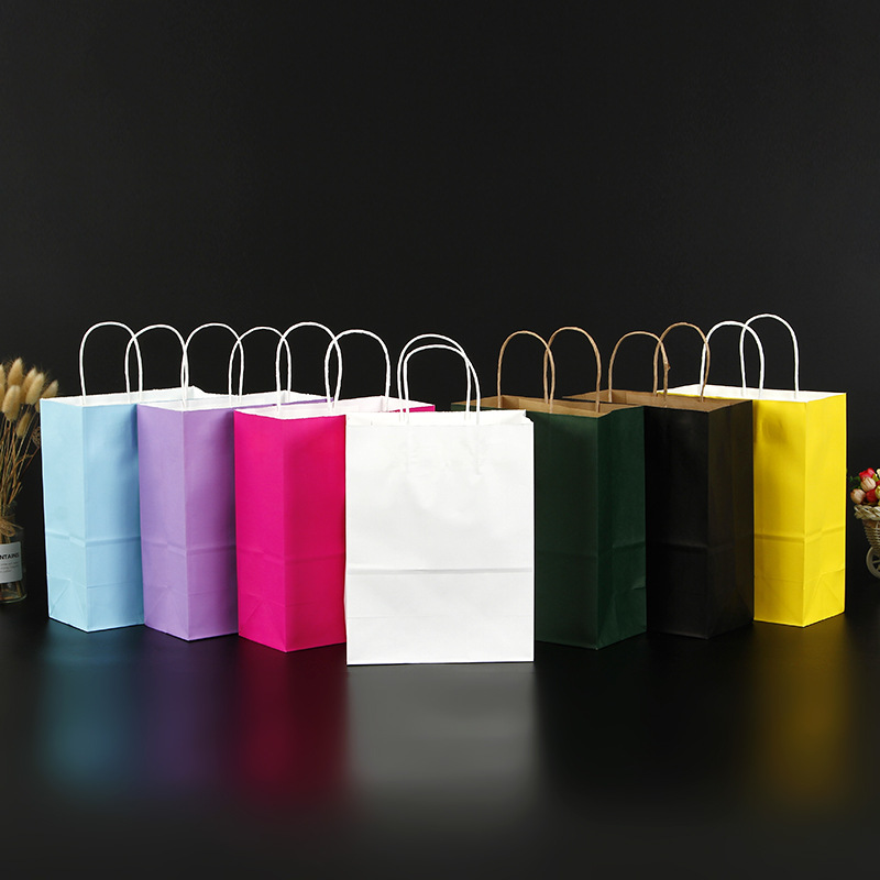 product-Dezheng-Wholesale cheap customized size colorful kraft paper bag-img-1