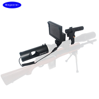 Megaorei 5 inch Night Vision Riflescope Hunting Scope Optics Sight Tactical 850nm Infrared LED IR use in day and night