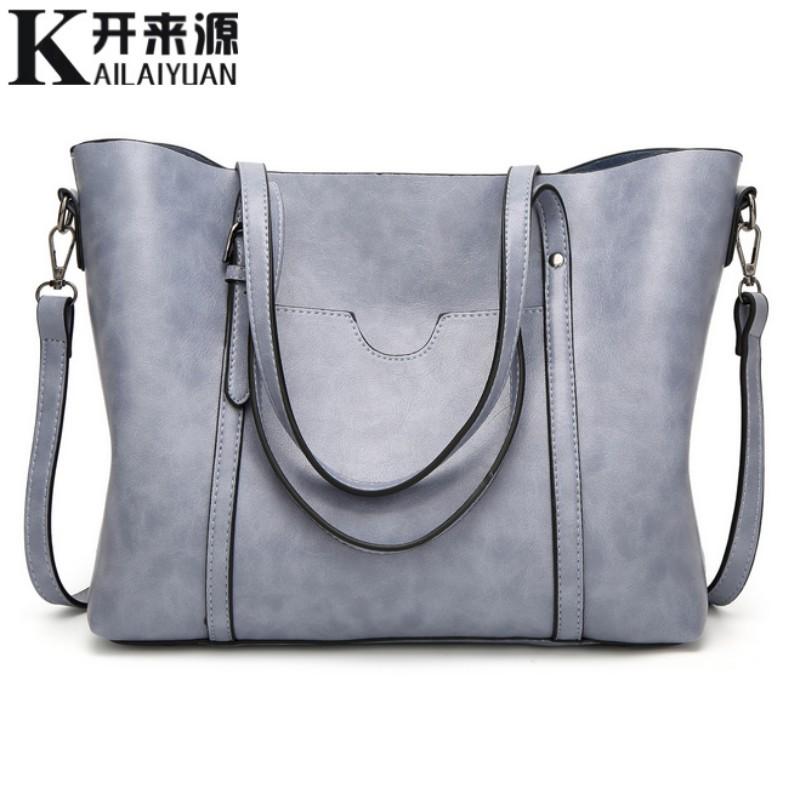 100% женские сумки из натуральной кожи, новинка 2020, Классическая переносная большая сумка на плечо, Темпераментная Женская Сумка-тоут(Китай)
