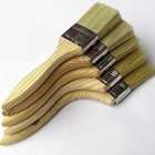 High quality bristle wooden handle paint brush for architecture