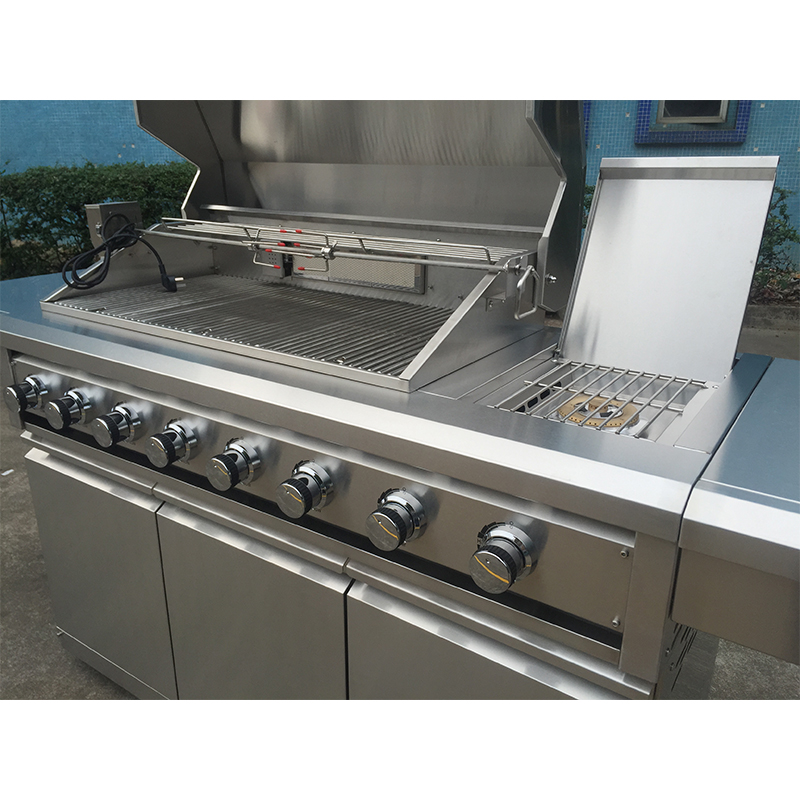 Professionele Fabriek Luxe Type Japanse Smart Gas Barbecue