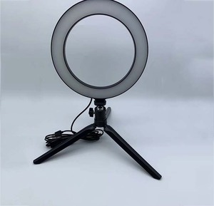 """Image of 8"""" Ring Light Kit Bluetooth LED Ringlight Lighting with Tripod Stand Dimmable YouTube Circle Lighting Ringlight for Makeup"""
