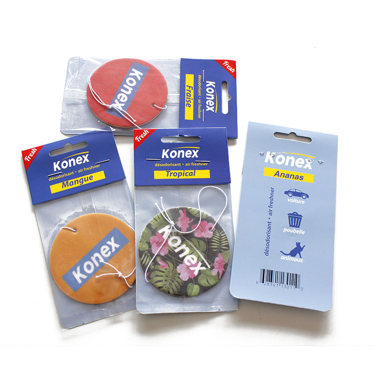 Car Air Freshener Hanging paper Fragrance for Fresh Scent in Vehicle Interior