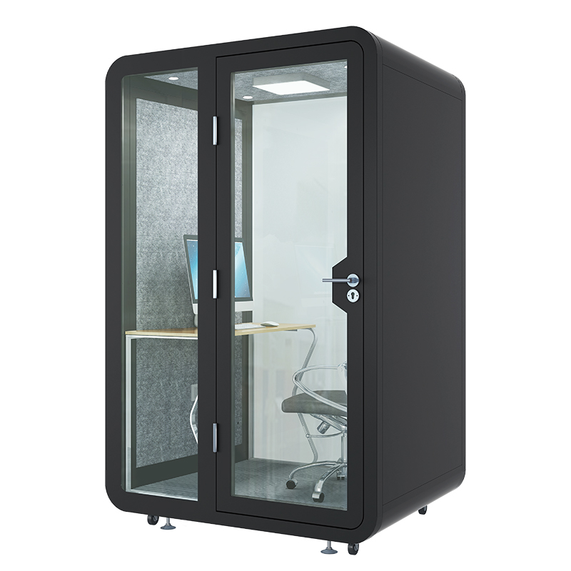 OEM Soundproof Booth Acoustic Room Mini Telephone Box DJ Broadcasting Studio Calling Pod Pavilion for Office Commercial Meeting