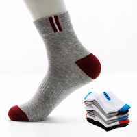 hot style cotton men's socks cotton sweat absorbent tube socks manufacturers wholesale cheap custom logo socks