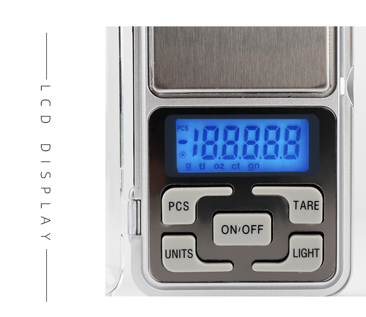 Factory Price 500g 0.01g Digital Mini Pocket LCD Display Jewelry Scale