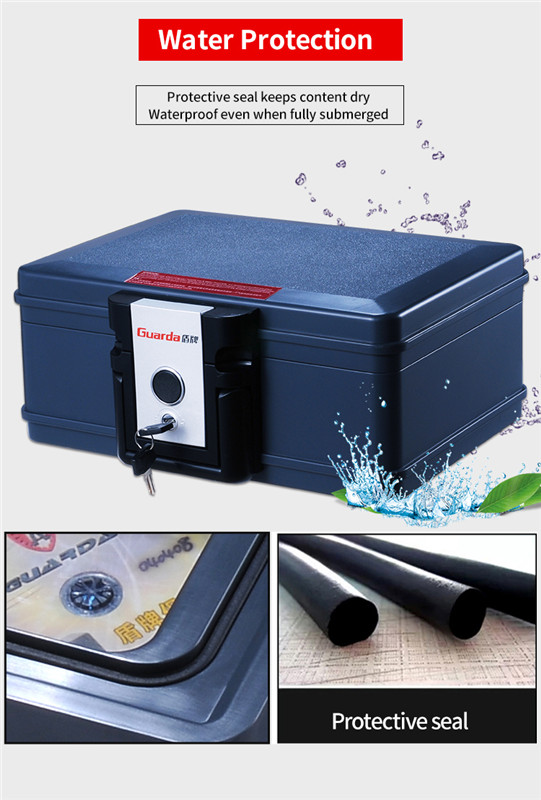 Best fireproof safe box alert suppliers for money-7
