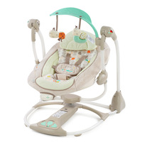 2019 new remote control Baby Electric Bouncer with blue tooth usb automatic infant seat Baby rocking Chair Musical