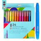 24 Colors Gel Crayons Washable Twistable Non-Toxic for Toddlers Kids and Students