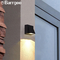 Housing Color Customizable 3W COB Led Exterior Sconce Wall / Outdoor Sconce Wall Light
