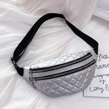 Модная женская поясная сумка, нагрудная сумка, водонепроницаемая поясная сумка из искусственной кожи, наплечная сумка-мессенджер, многофун...(Китай)