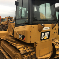 used cat d5k bulldozer low price/Used for Caterpillar d3 d4 d5 d6 d8/original cat d5k bulldozer good condition