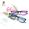 New design custom eyewear fashion optical spectacles frame anti blue light blocking eyeglasses tr 90 eye glasses frames