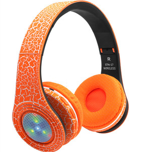 Top Quality Active Noise Cancelling Stereo Wireless Headphone On Ear Portable Bluetooth Headset