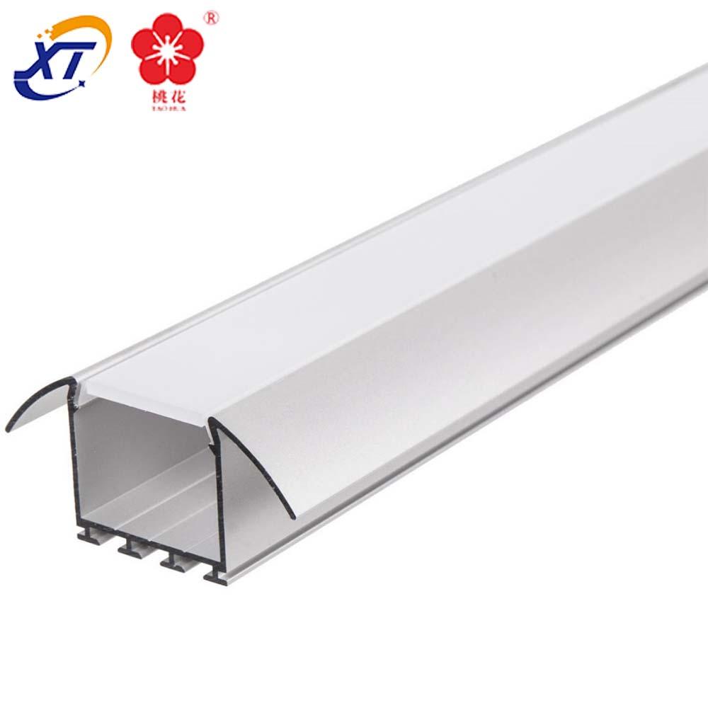 LED Aluminium Profil Aluprofil + Abdeckung eloxiert Strip Lichtband into aluminium led lighting profile of strip