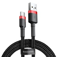 Baseus 2.4A Fast Double Side Insertion Braided Micro Usb Multi Phone Charging Cable