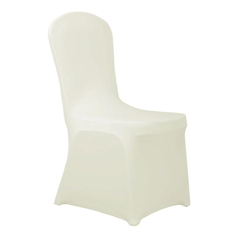 2019 ins hot sale white spandex dinning massage wedding banquet chair cover