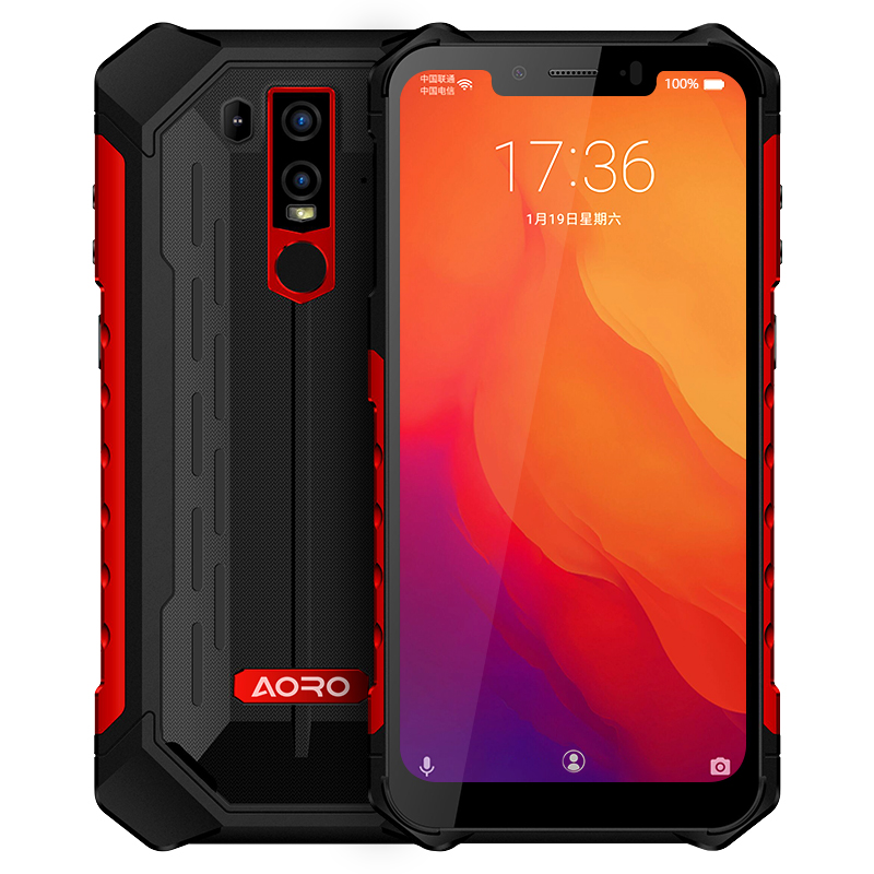 Tragbare 6,2 Zoll Android 8,1 smart entriegelt robusten handys military grade atex smartphone