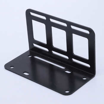 custom made anodized aluminum sheet metal powder coated stamping products