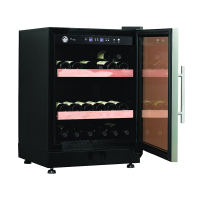 modern Sell well glass doors wine fridge cigar humidor