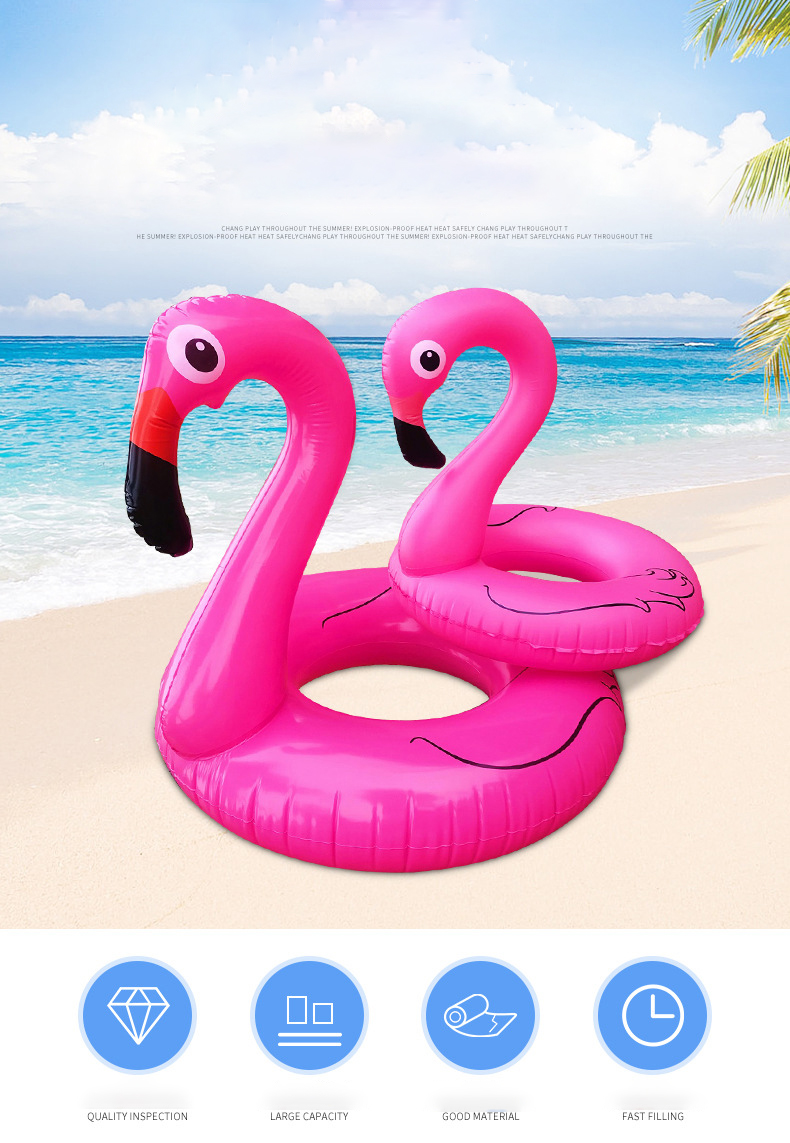 2020 Trending Products Design Funny New Customized Water Toy PVC Inflatable Swimming Ring Outdoor Toys
