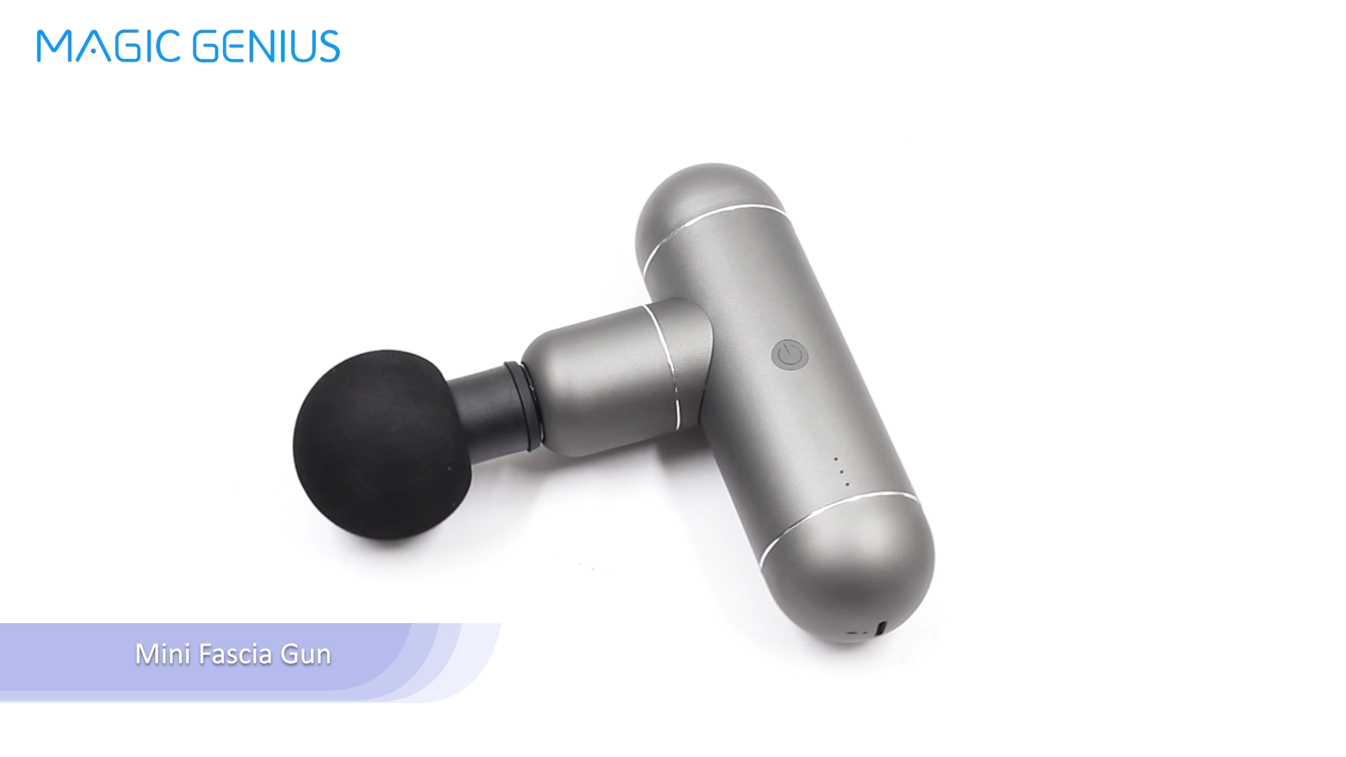New Cheap Portable Massager Gun Soft Vibration Body Massage