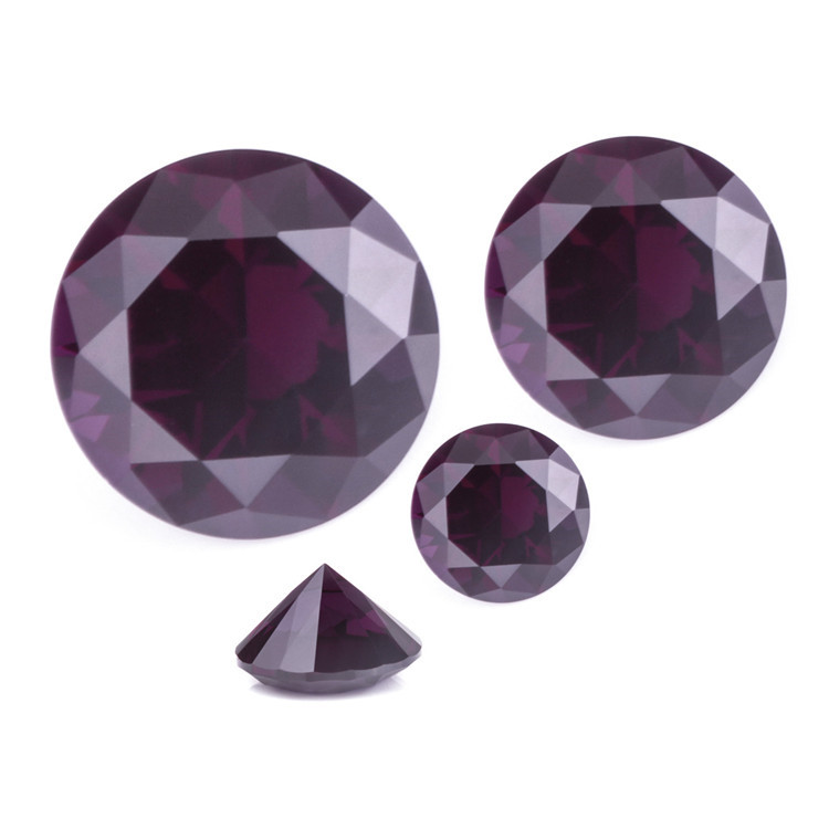 Xiangyi gems synthetic nano gemstones #167 color round cut 3.00 mm  nano stones for jewelry set