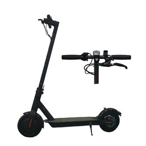 2019 Factory direct European Czech Republic warehouse free shipping  straight hair 8.5 Inch  Foldable Adult Electric Scooter