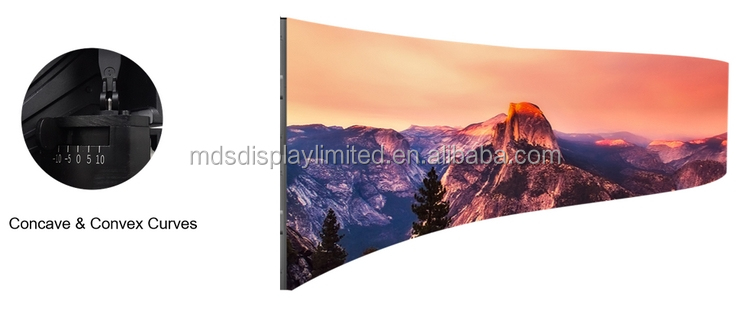 video display hd 2K 4K p3 p3.91 led matrix full color smd indoor curved led video wall for stage background