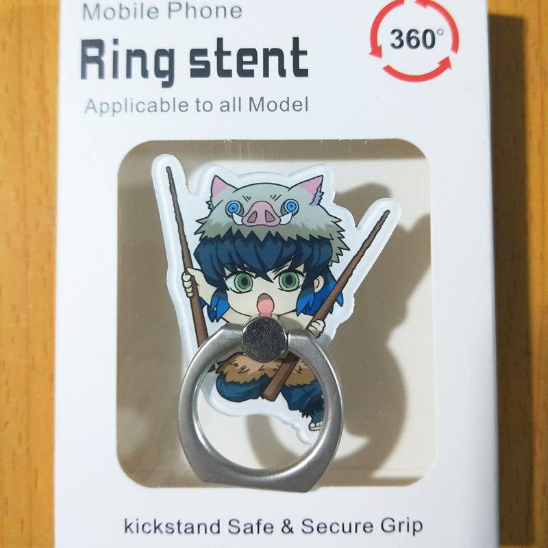 Anime Demon Slayer Phone Holder Kimetsu no Yaiba Phone stand Cute Fun Acrylic Mobile Phone Holder 2020