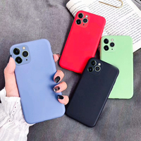 Office High Quality Liquid Silicon Case For iPhone 11 Pro Max Hand Feel Soft Candy Cover Case For iPhone 11 Pro
