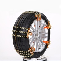 New design universal Steel plastic snow chain Car Tyre