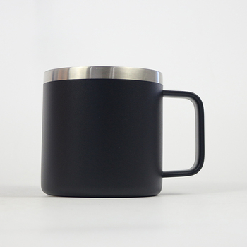 Travel Coffee Insulated From Selling MugOme Product Hot Custom 14oz Vacuum Yongkang HandleView Details Stainless Steel With Mug fvYbgy67