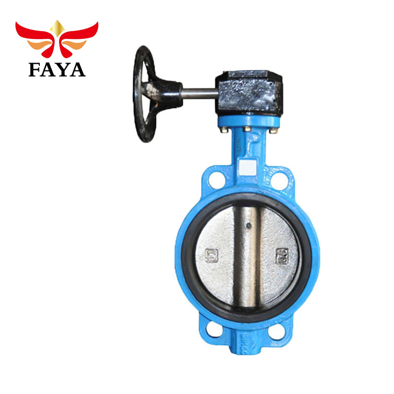 Besi Ulet 6 Inch Kursi Flanged Butterfly Valve