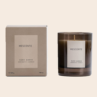 Mescente wholesale private label cheap personalised bulk wine scented candles