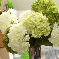 Last Week Promotion Silk Artificial Flowers Hydrangea Artificial Flower For Home Decor