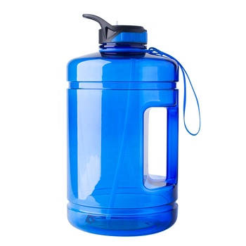 Mlife BPA free 3.78L motivational one gallon water bottle with straw