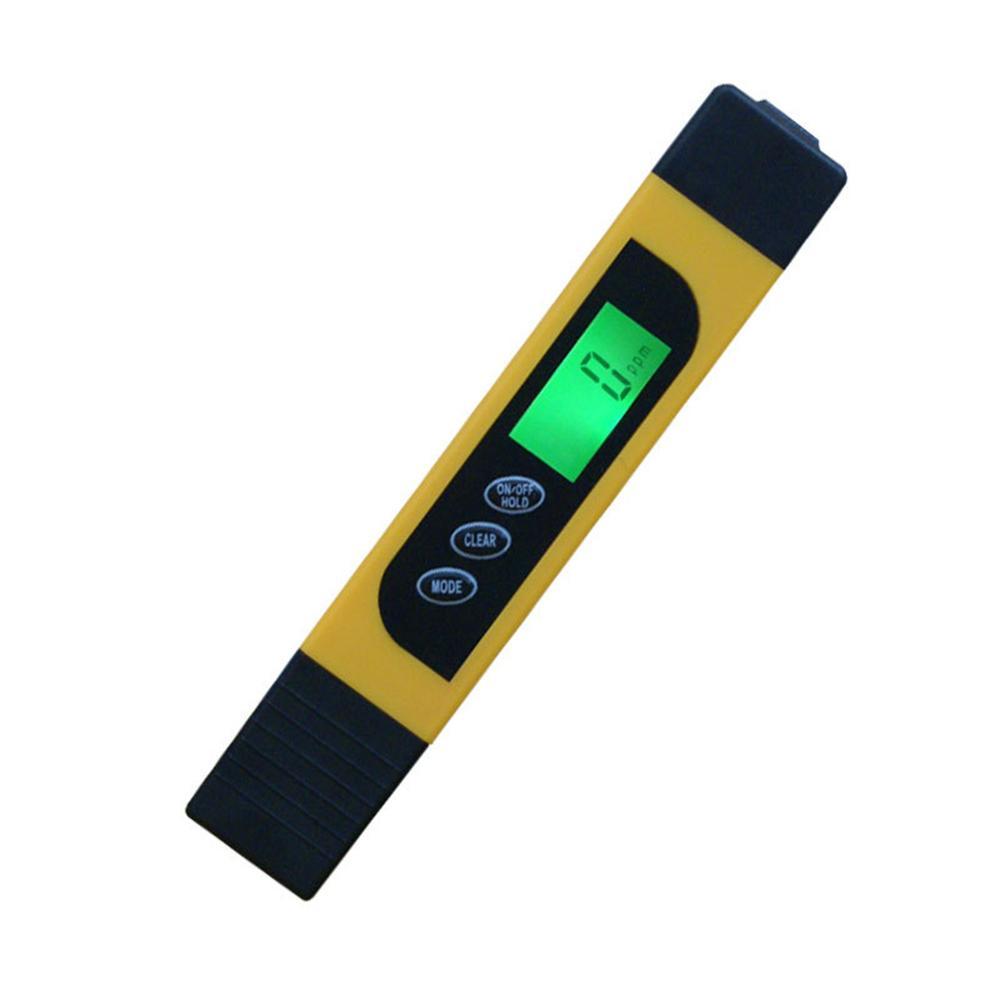 0 ~ 9990ppm Портативный ЖК-цифровой тестер воды PPM качественная тестовая ручка фильтр чистоты полное растворение so Meter Temp инструменты аксессуар(Китай)