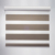 american style motorized blackout  zebra blinds for office and home