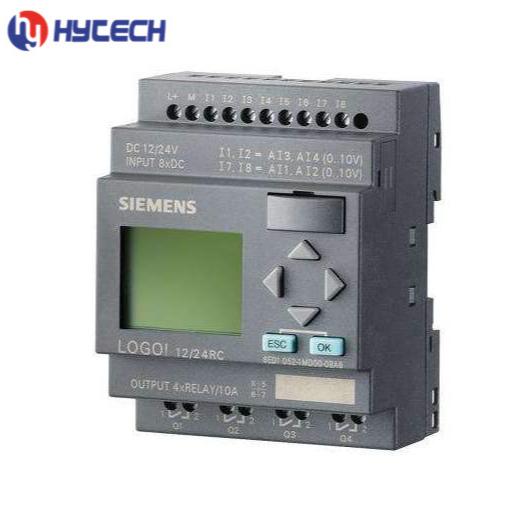 supplier siemens smart industrial cnc parts plc LOGO! 8DI(4AI)/4DO controller programmable logic module 6ED1052-1MD08-0BA0 price