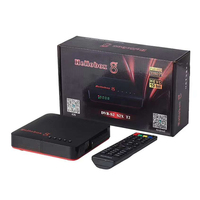Hellobox 8 DVB-S2 S2X T2 H.265 Built-in WiFi Auto biss key PowerVu India best price TV receiver