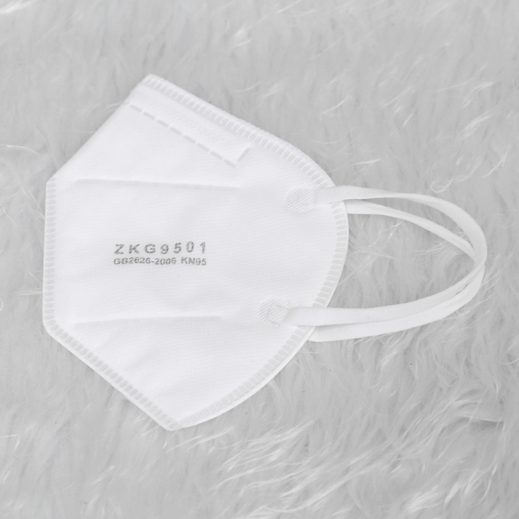 Best Supplier Disposable breathable anti-dust antismog anti coronavirus ear loop personal safety face mask kn95