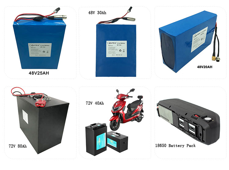 48 Volt e Bike Li-ion Battery 48V 17Ah Lithium 18650 Battery Pack with Extra Controller Place Charger