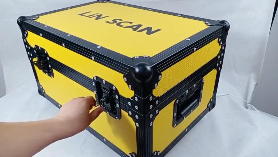 カスタム黄色フライトケースツールキャビネット業界アルミケース