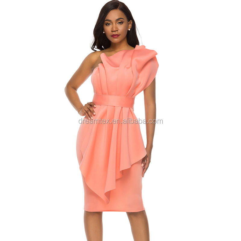 Dress pink tight curve high quality fashion women wedding party dress plus-size hot style sexy women dress