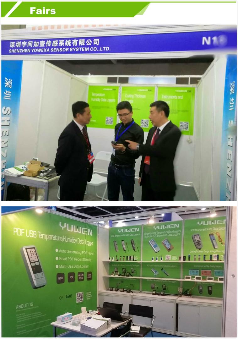 Yowexa DWL-11E  LCD high accuracy Temperature  data Logger and External Probe