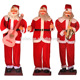 Giant Electric Santa Claus Guita Dancing Musical Animated Singing Saxophone Santa For Christmas Hotel Hall Party Decoration