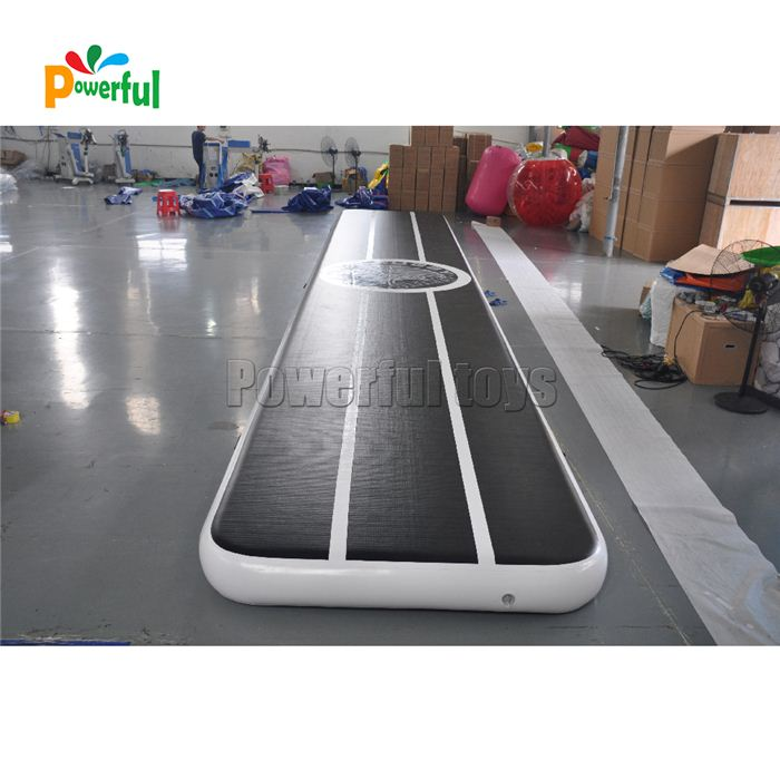 Best Quality Air Track Gymnastics Mat Gonfiabile Black Airtrack For Dancing