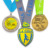 Manufacture custom high quality cheap price zinc alloy plating running sport metal medal